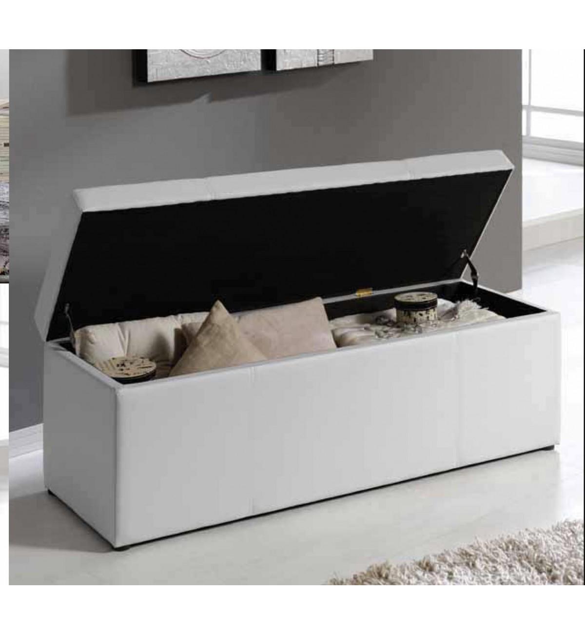 Baul polipiel b 99 ld camas de dise o for Cama diseno