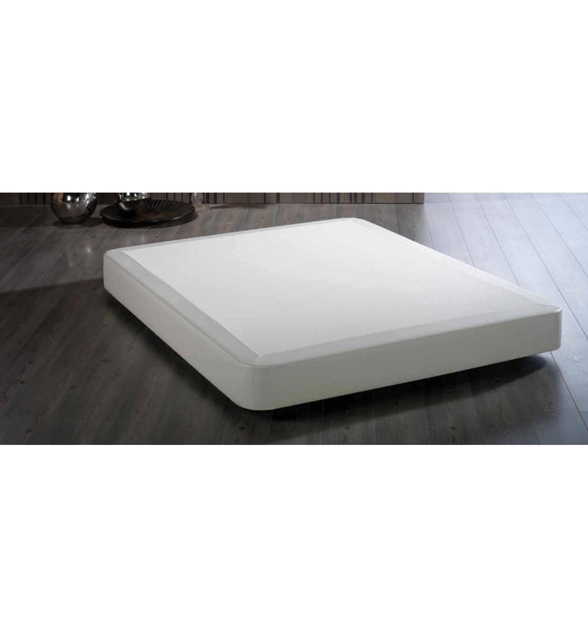 Canap r gido con marco en polipiel de ld camas de dise o for Canape para cama