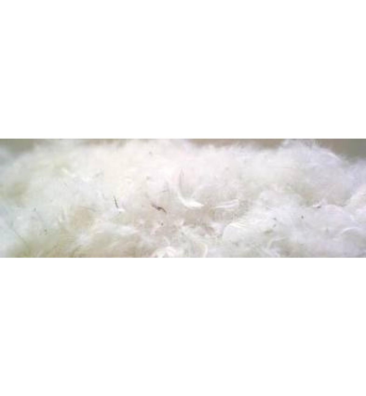 Paquete de 1 kg de plumas a granel de oca o ganso para
