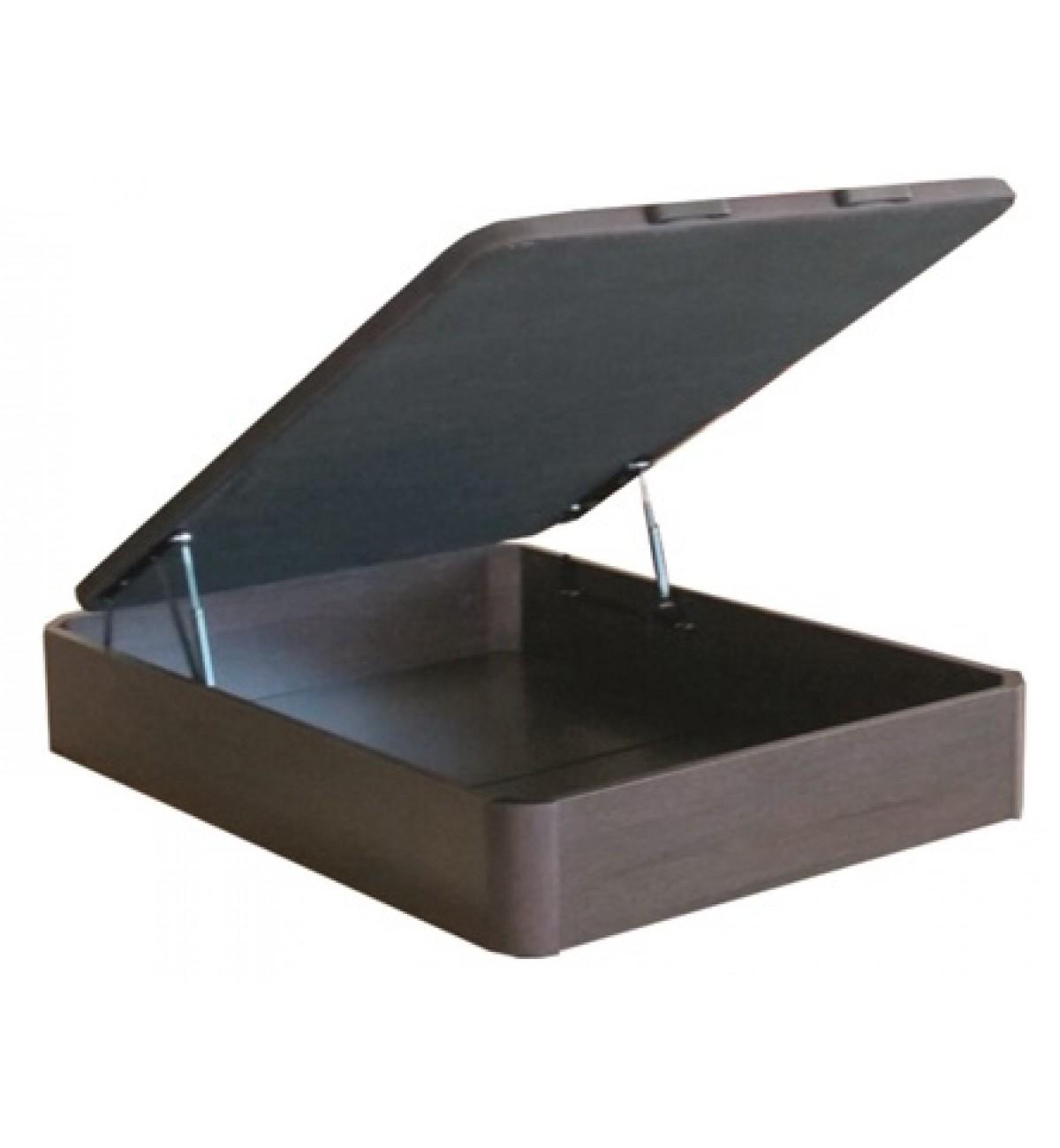 Canap abatible madera en kit gran capacidad colchoner a for Canape abatible